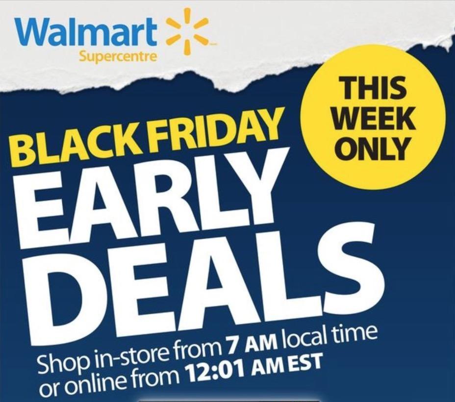 Black Friday Walmart 2018