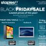 Staples Canada Black Friday 2019 Flyer Deals Canadian