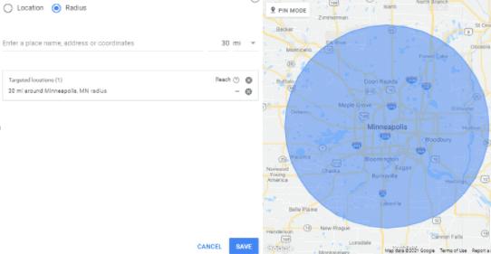 Daycare Advertising Blog Screenshot- Radius Targeting Google Ads