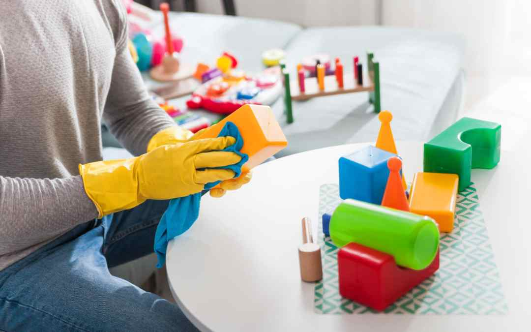 How to Clean Classroom Toys