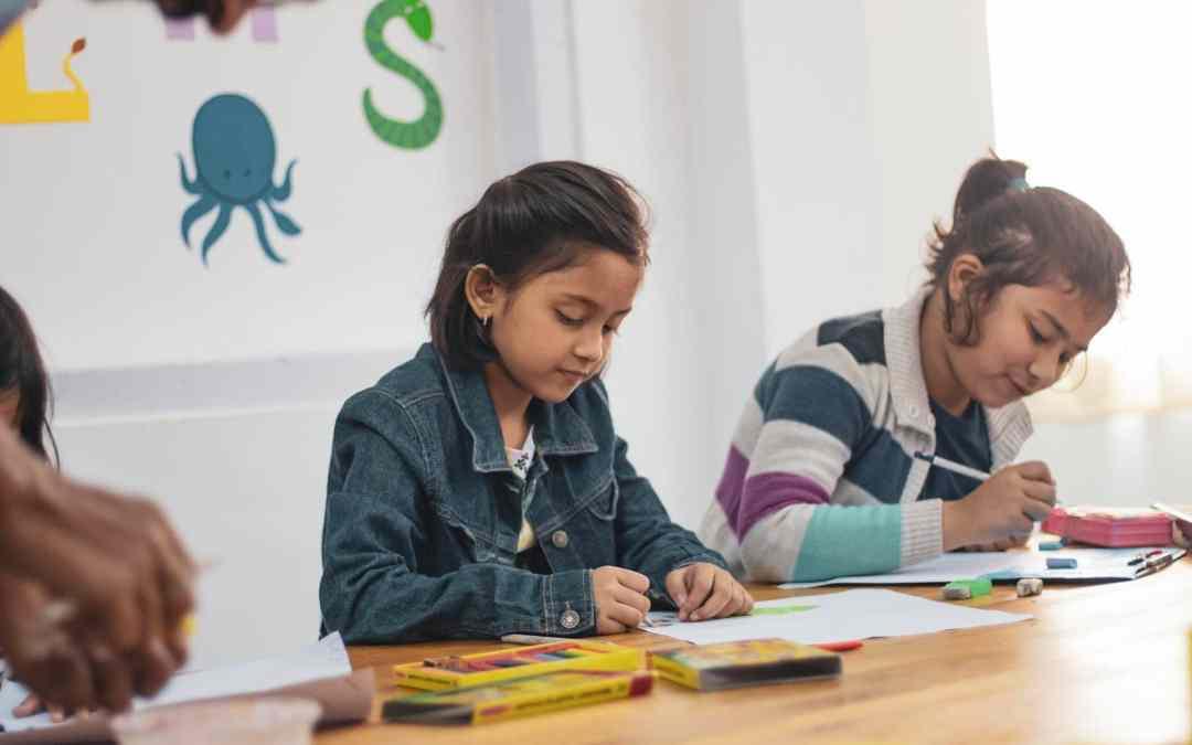 children doing activities