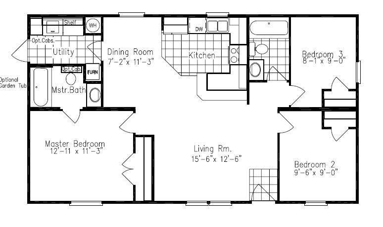 Floor Plans For Site Built, Mobile, and Modular Homes San