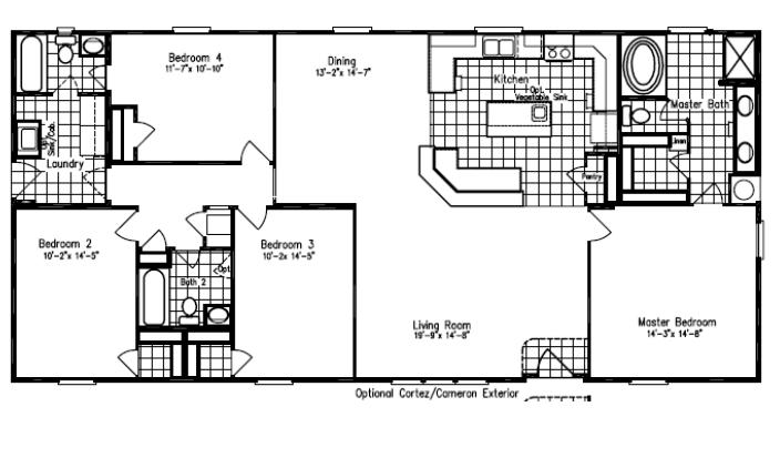 Floor Plans For Site Built, Mobile, and Modular Homes San