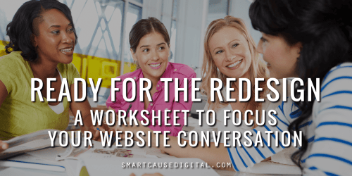 Ready for the Redesign worksheet