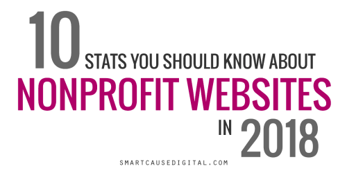 10 Stats You Should Know About Nonprofit Websites in 2018
