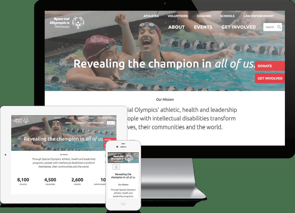 Special Olympics Minnesota website