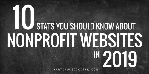 10 stats you should know about nonprofit websites in 2019