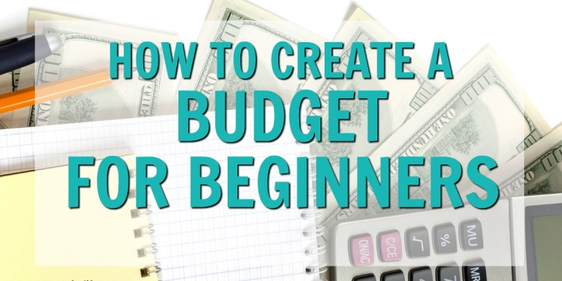 Are you looking to create your first budget? This budgeting for beginners guide will show you how you can take control of your finances and save money! Learn how to budget your money with this simple step by step guide. You can stop living paycheck to paycheck by creating a budget that works! A FREE monthly budget worksheet printable included! How to budget for beginners, how to budget, money saving tips, budgeting tips, how to create a budget, how to save money