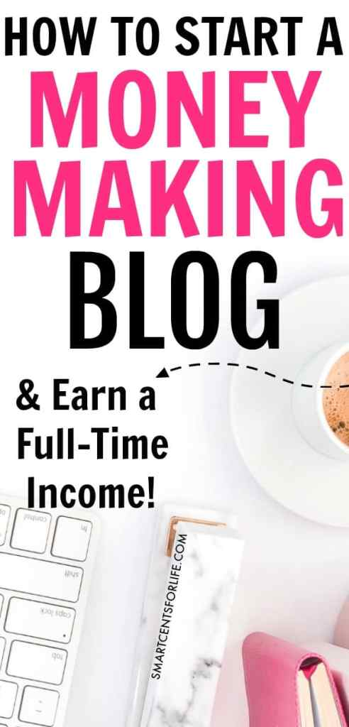 Want to work from home? If so, then this is the guide for you! I will show you exactly how to start a profitable blog from day one. Check out how you can earn a full time income by blogging. Follow this simple step-by-step tutorial and start a money making blog the right way! work from home jobs, side hustles, work at home jobs, make money blogging, blogging tips, stay at home jobs, #workfromhomejobs, #blogging #makemoneyblogging #sidehustles