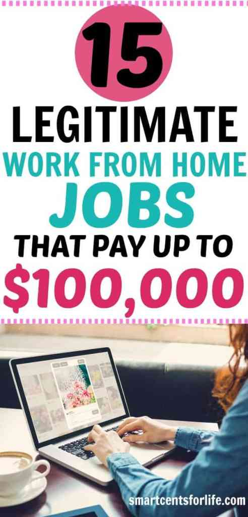 Finding legitimate work from home jobs shouldn't be a difficult task. Check out these high pay work at home jobs and start making money from the comfort of your home. No college degree or experience needed. Side income, earn money, extra income, side hustles, jobs that pay well, flexible jobs, online jobs, jobs for moms, business ideas