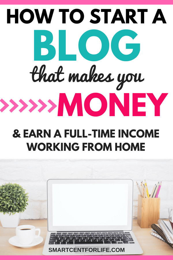 Do you want to start a profitable blog but don't know where to begin? I will show you the exact steps to start a money making blog from day one. Follow this simple step-by-step tutorial and start making money working from home! #workfromhomejobs, #blogging #makemoneyblogging #sidehustles #bloggingtips