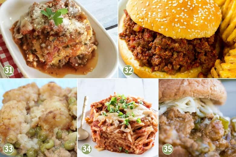 35 Cheap and Easy Crockpot Meals-Pasta Recipes