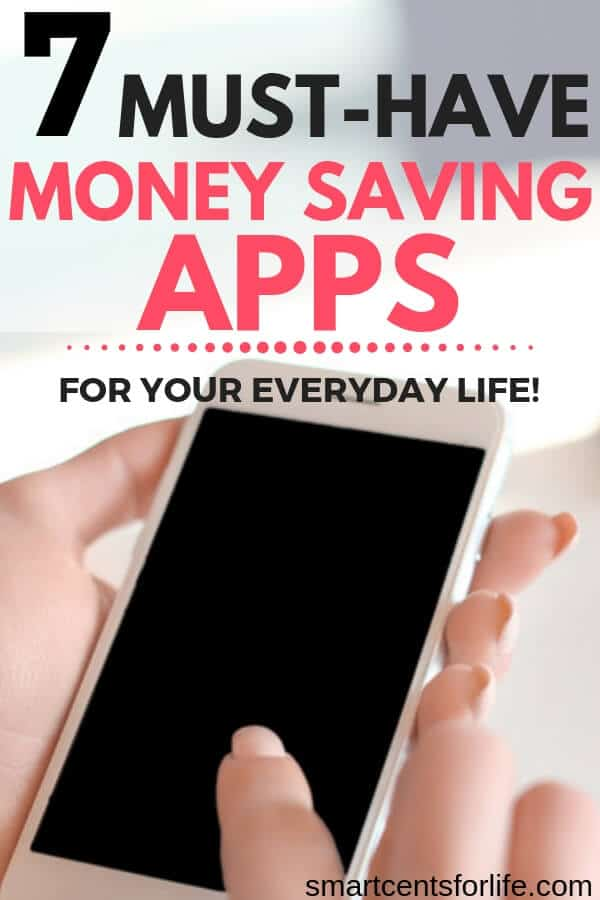 Looking for the best ways to save money? Check out these money-saving apps you should use and keep on your smartphone and start saving money every month. These smartphone apps are great for iPhone or Android and they could help you save money on shopping while at the grocery store, make extra money, help you with your budget and even keep track of your finances! #SavingMoney #Budget #Moneytips #HowtoSaveMoney