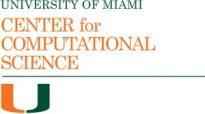 University of Miami Center for Computational Science logo