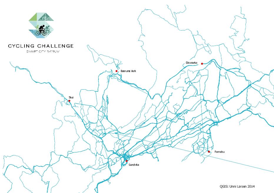 Heat map Bærum