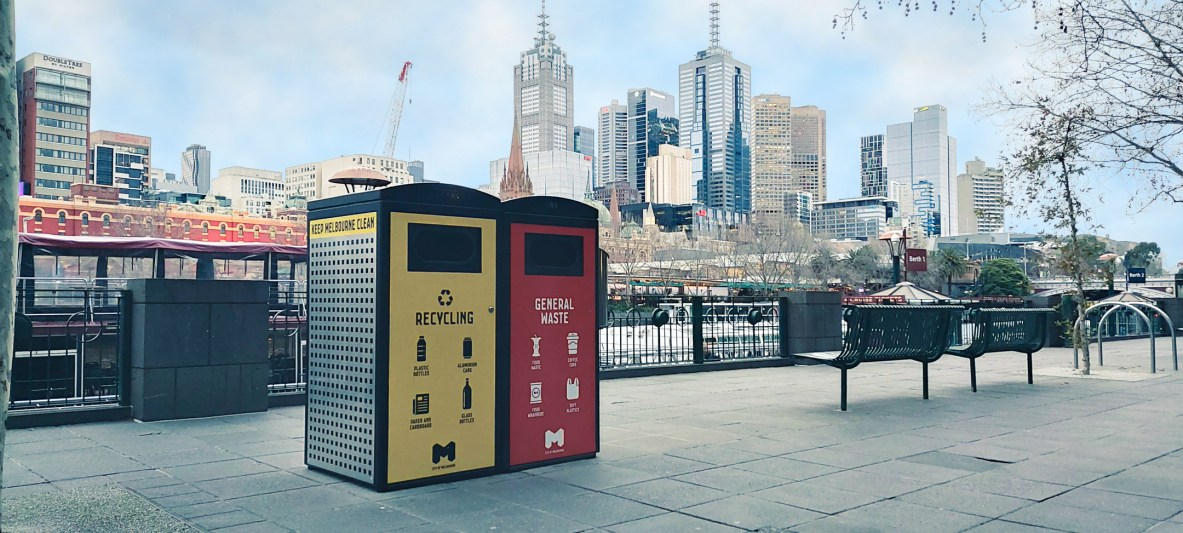 City of Melbourne Smart Bins