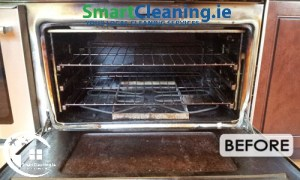 Before Professional oven Cleaning