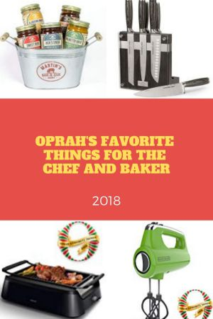 oprah 39 s favorite things for the chef and baker 2018 smart cook nook. Black Bedroom Furniture Sets. Home Design Ideas