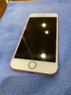 iPhone8 ガラスコーティング 【筑紫野市からのご来店】