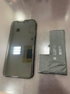 姉妹店修理速報 iPhoneX バッテリー交換