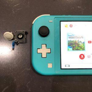 任天堂Switch Lite スティック折れ修理