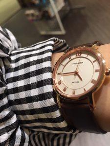 腕時計 ガラスコーティング