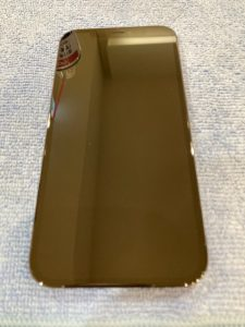 iPhone12ProMax ガラスコーティング