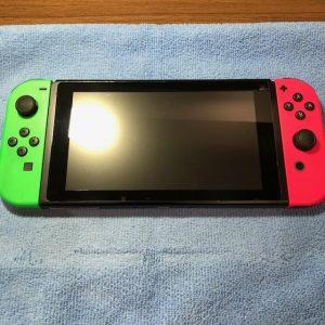 任天堂Switch ガラスコーティング