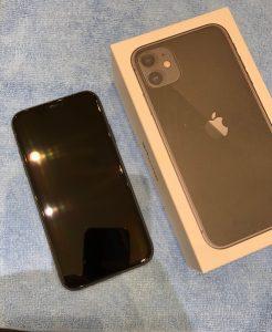 iPhone11のガラスコーティング