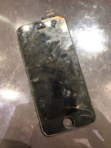 iPhone5の画面修理