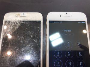 iPhone6SPの画面交換