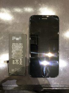 iPhone7のバッテリー交換