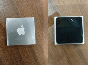 iPod ガラスコーティング