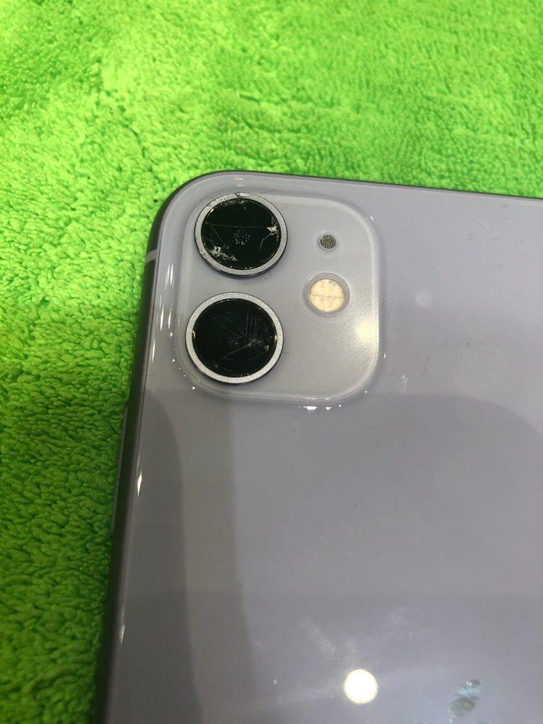 iPhone11のカメラレンズ交換修理