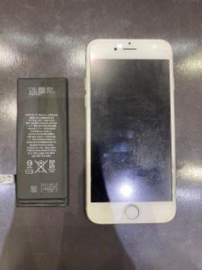 iPhone6のバッテリー交換にお越し頂きました