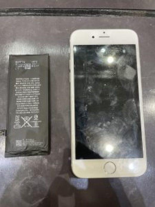 アイフォン8のバッテリー交換