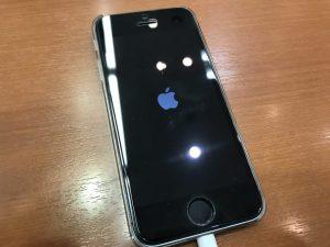 ios のアップデートに失敗してリンゴループになったiPhone