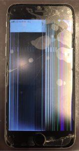 iphone6sの液晶割れとガラス割れ修理