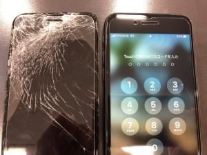 iPhone7パネル交換
