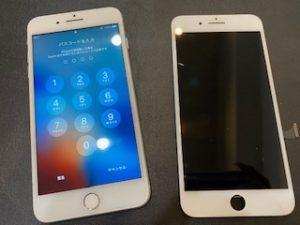 アイフォン8p 画面交換