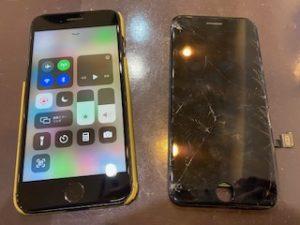 アイフォン8画面交換