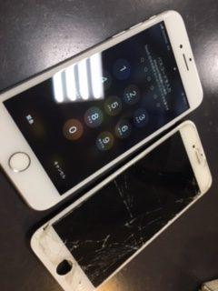 iPhone修理伊丹宝塚川西尼崎店 iPhone7画面交換 宝塚市よりお越しのお客様