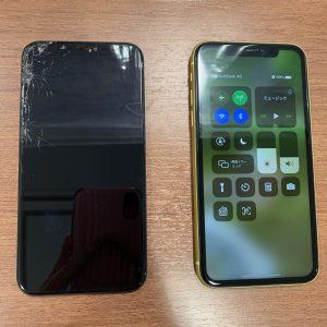 iPhone11の画面交換修理
