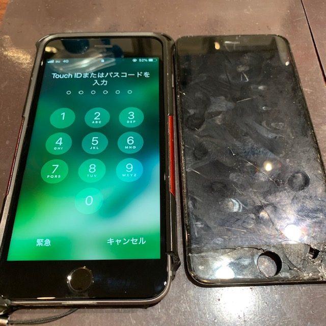 画面が割れてしまっても交換すればまだまだ使えます!/iPhone6/東区よりお越しのお客様