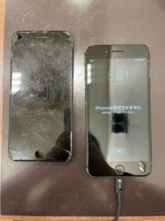画面交換もチョチョイのチョイで完了です🤩/画面交換/iPhone8plus