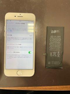 電池の交換って必要ですよね🤔/iPhone7Plus/バッテリー交換