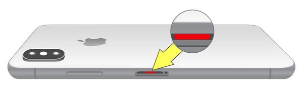 「防水シリーズ3」iPhone水没したかどうかの確認方法