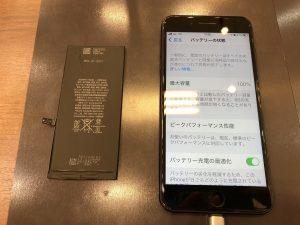 i8バッテリー交換