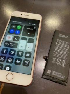 【姉妹店修理速報】 iPhone7 バッテリー交換