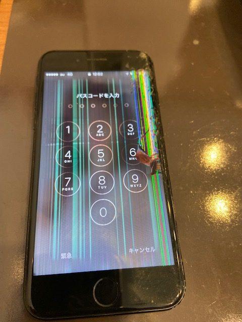 iPhone落としたら液晶がおかしくなった!!【スマートクール神戸ハーバーランドumie店】<神戸市中央区><神戸市灘区><神戸市兵庫区>